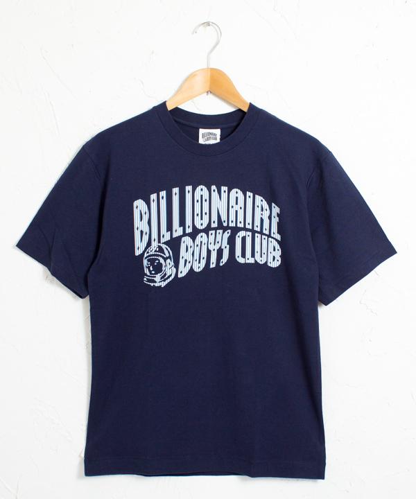ビリオネアボーイズクラブ BBC ストライプロゴ 半袖Tシャツ