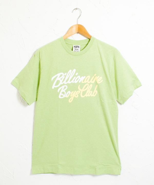 BBC イタリックフォント スラッシュ 半袖 Tシャツ