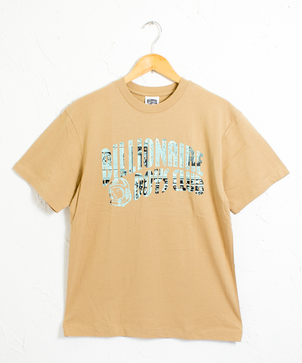 BBC 新聞柄 ヘルメットロゴ プリント 半袖Tシャツ