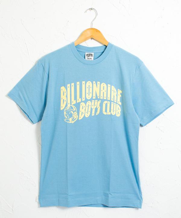 BBC アーチロゴ プリント 半袖Tシャツ #パステルブルーxパステルイエロー