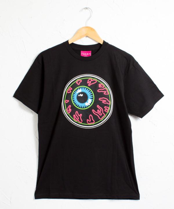 ミシカ キープウォッチ ネオン アートワーク 半袖Tシャツ