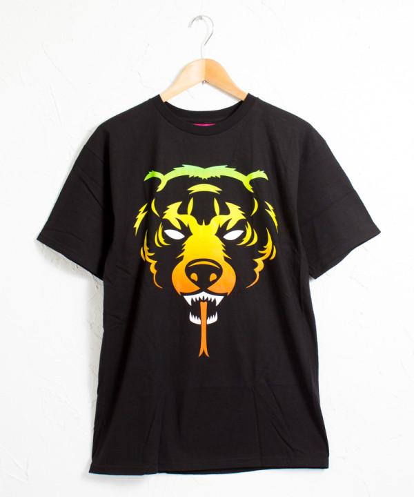 ミシカ アッダーラスタ ロゴ 半袖Tシャツ #ブラック